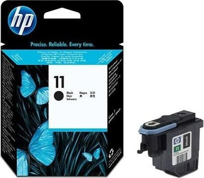 HP nr.11/C4810A printhoved, sort, 16000s