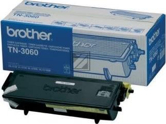 Brother TN3060 lasertoner, sort, 6700s