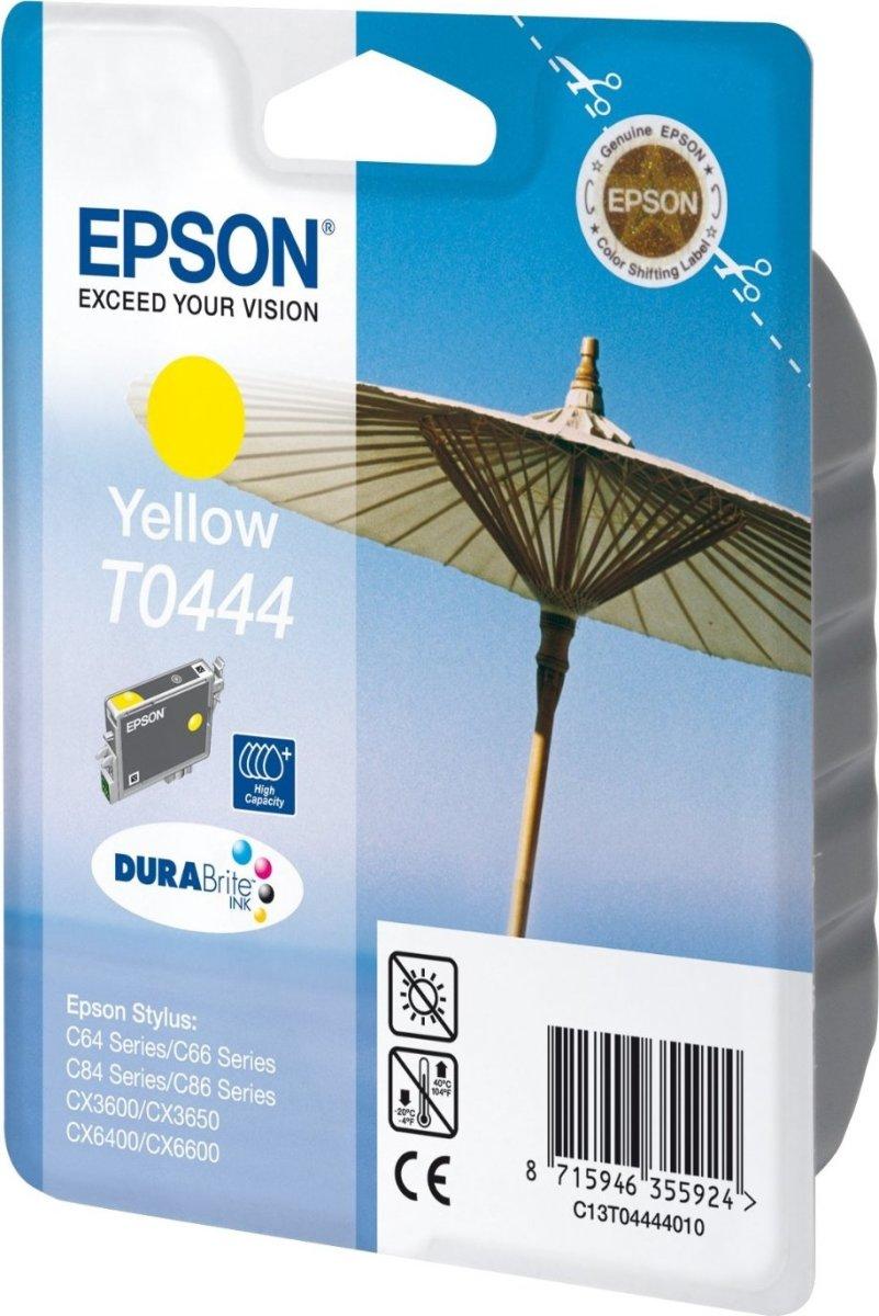 Epson nr.T044/C13T04444010 blækpatron, gul, 420s