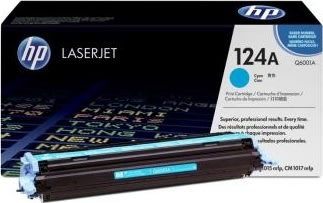 HP 124A/Q6001A lasertoner, blå, 2000s