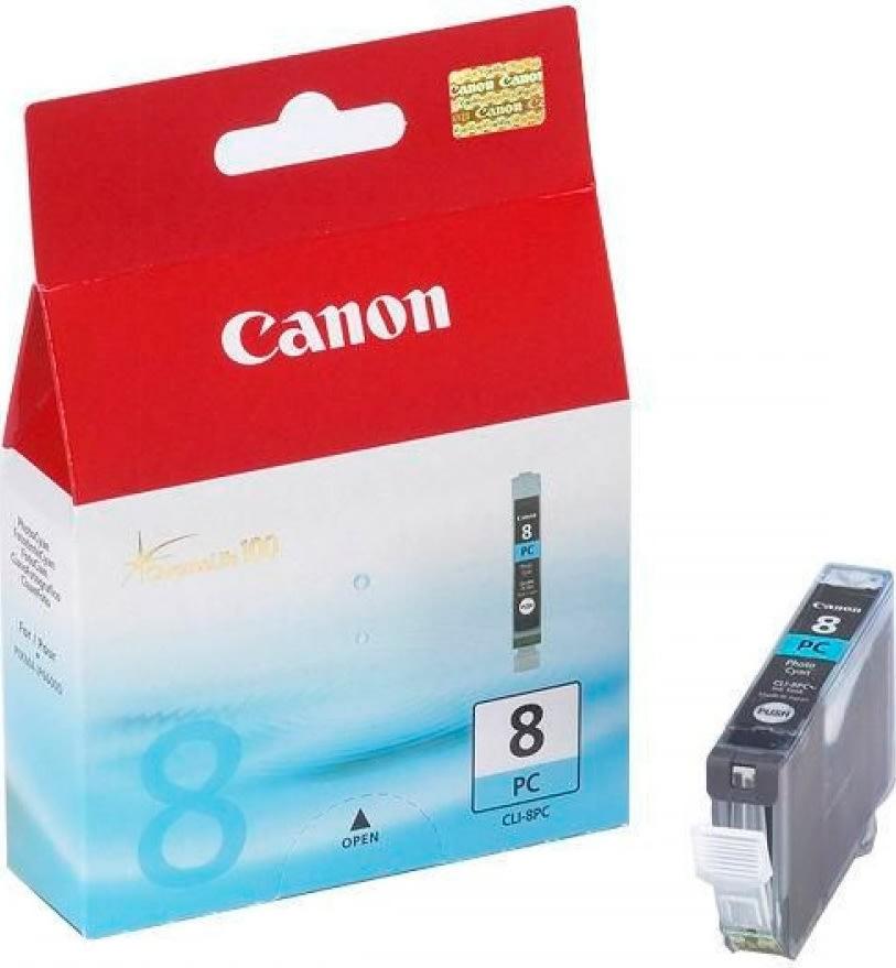 Canon CLI-8PC blækpatron, foto blå, 450s