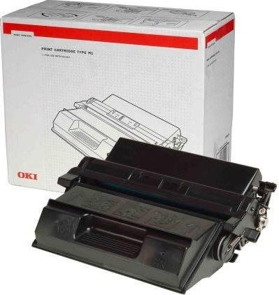 OKI 09004058 lasertoner, sort, 15000s