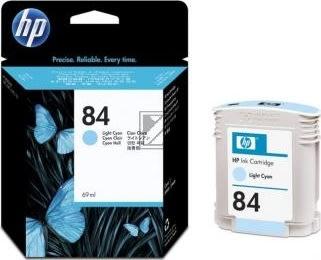 HP nr.84/C5017A blækpatron, lys blå