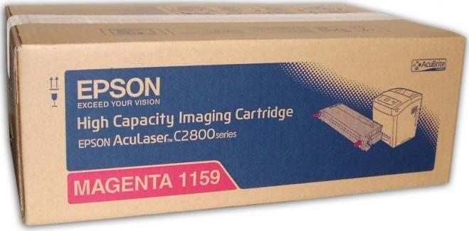 Epson C13S051159 lasertoner, rød, 6000s