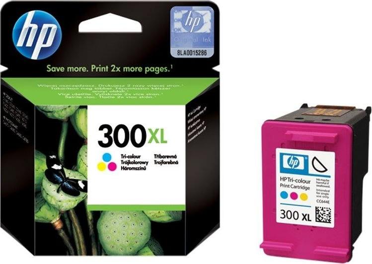 HP nr.300XL/CC644EE blækpatron, 3-farvet, 440s