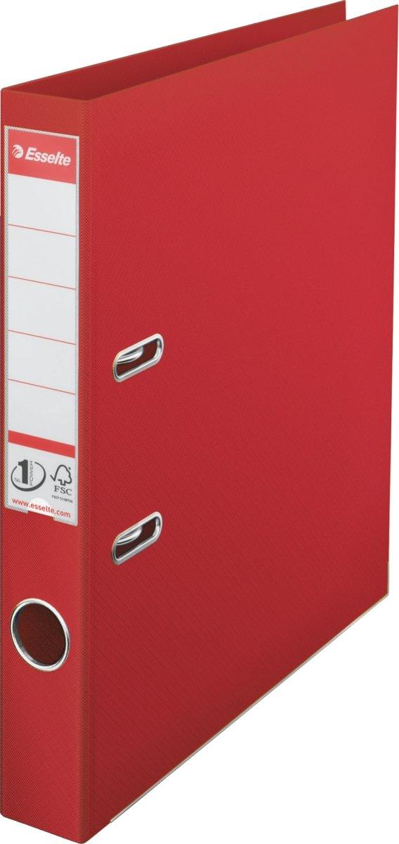 Esselte No.1 brevordner A4, 50mm, rød