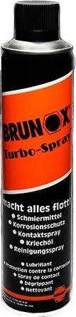 Brunox Turbo Spray til spinningscykler, 400 ml