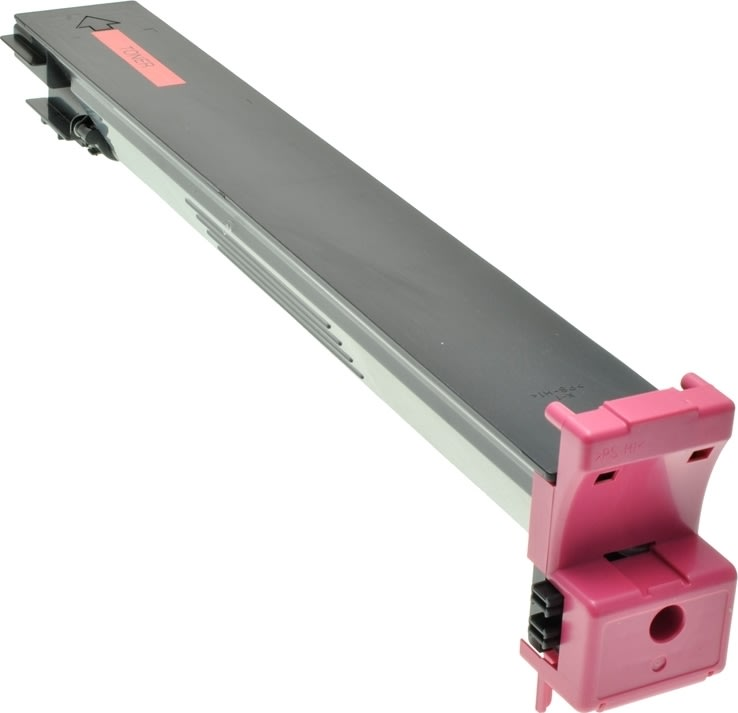Konica Minolta 8938-511 lasertoner, rød, 12000s