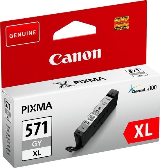Canon CLI-571GY XL blækpatron, grå, 11 ml