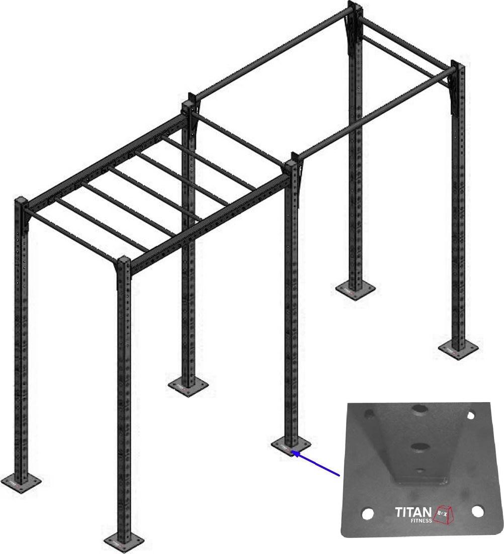 Titan Fitness Box Rig