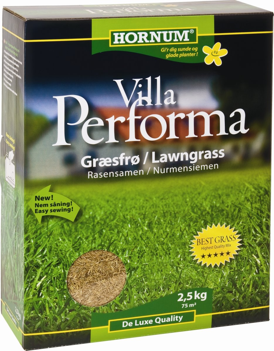 HORNUM Villa Performa Græsfrø, 2,5 kg