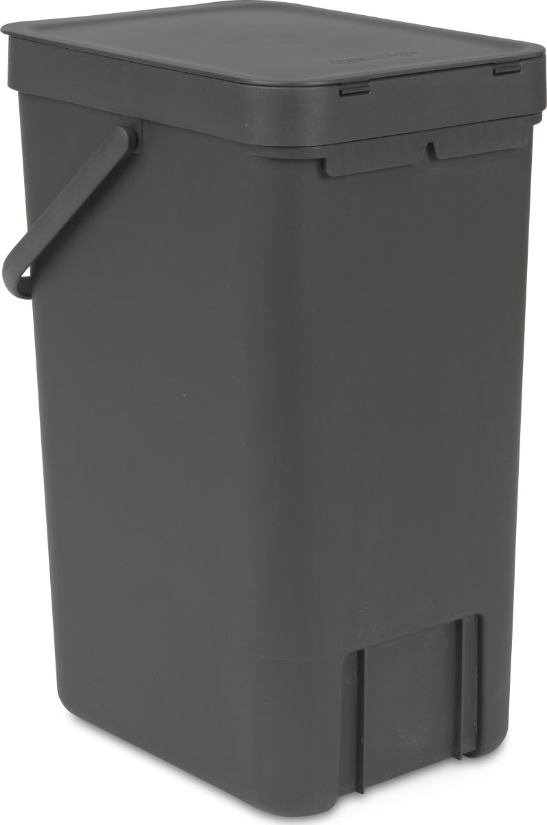 Brabantia Sort&Go Sorteringsspand 16 liter, grå