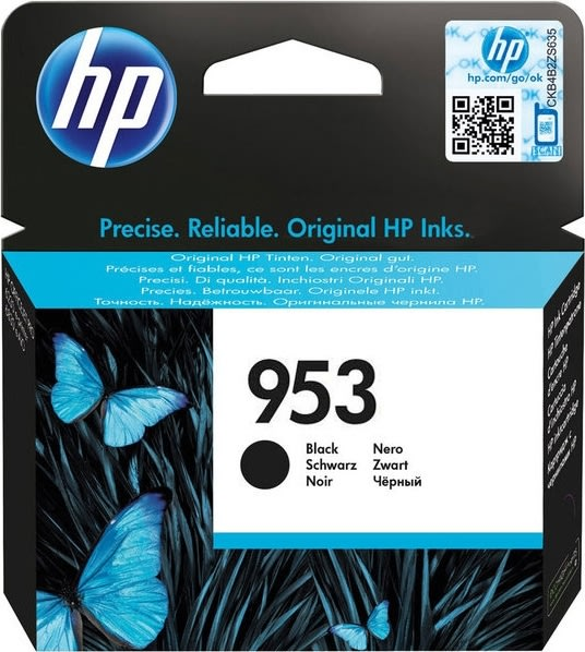 HP nr.953/L0S58AE blækpatron, sort, 1000s.