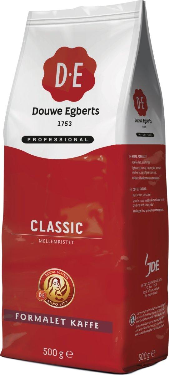 DE Classic kaffe, 500g