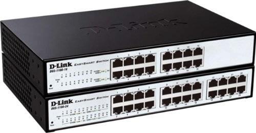 D-Link DGS-1100-24 Switch, 24 Ports 10/100/1000