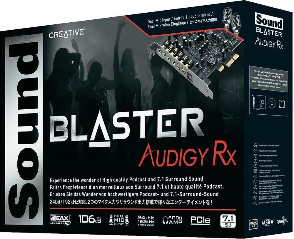 Creative Sound Blaster Audigy RX lydkort