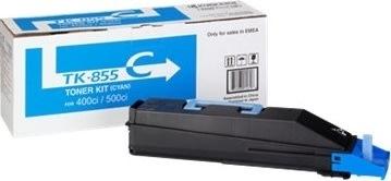 Kyocera TK-855C lasertoner, blå, 18000s