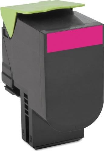 Lexmark 80C2XM0 lasertoner, rød, 4000s