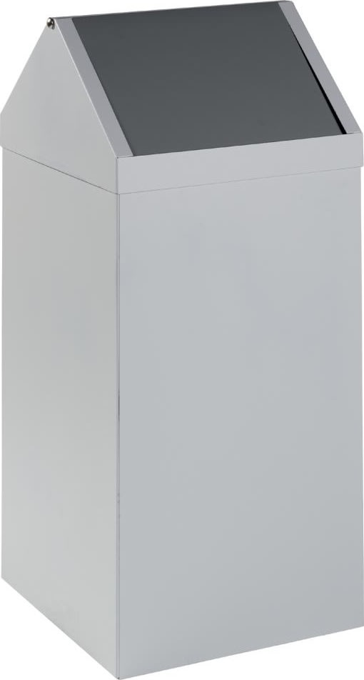 Affaldsspand Square two 50 liter, 280x300x780 mm