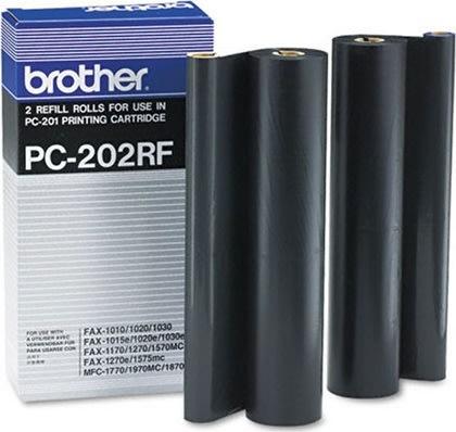 Brother PC 202RF farvebåndskit, sort