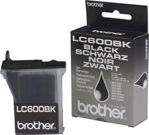 Brother LC600BK blækpatron, sort, 450s