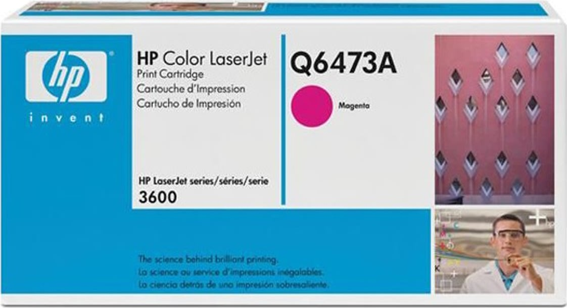 HP 502A/Q6473A lasertoner, rød, 4000s