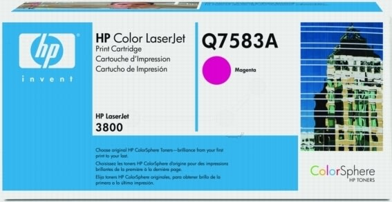 HP 503A/Q7583A lasertoner, rød, 6000s