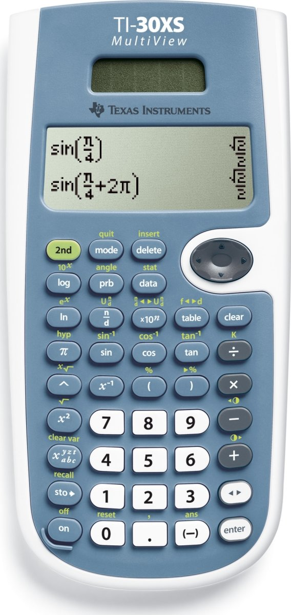 Texas Instruments TI-30XS MV matematik lommeregner