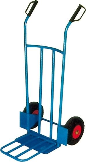 Sækkevogn m. udfaldsramme, 200 kg