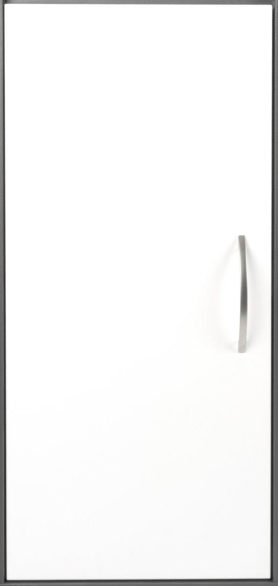 Stay dør t/2 rum i højden  hvid melamin