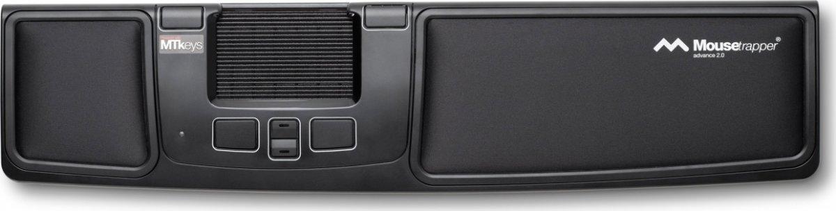 Mousetrapper Advance 2.0, sort/turkis