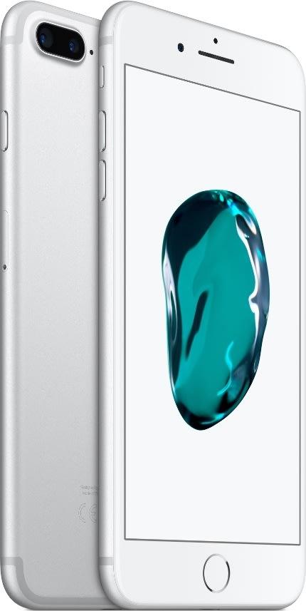 Apple iPhone 7 Plus, 256GB, Sølv