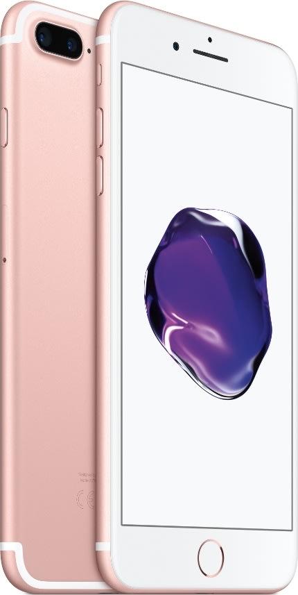 Apple iPhone 7 Plus, 128GB, Rosaguld