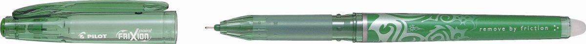 Pilot Frixion Point kuglepen, grøn