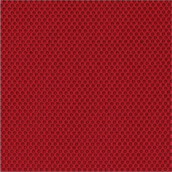 CL Pinto sadelstol m/ ryglæn, rød, stof