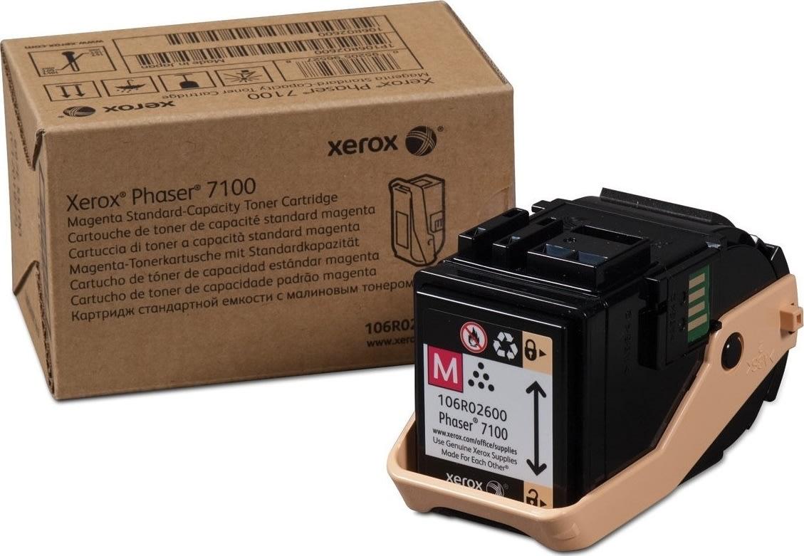 Xerox 106R02600 lasertoner, rød, 4500s.