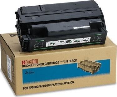 Ricoh Aficio Type 215 Toner Cassette Sort 20.000 s