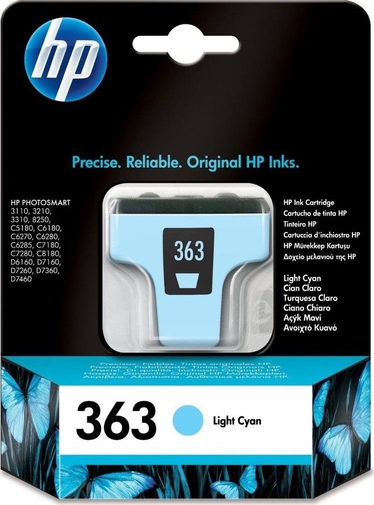 HP 363/C8774EE blækpatron, light blå, 220s