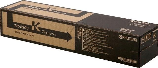Kyocera TK-8505K  lasertoner, sort, 30000s