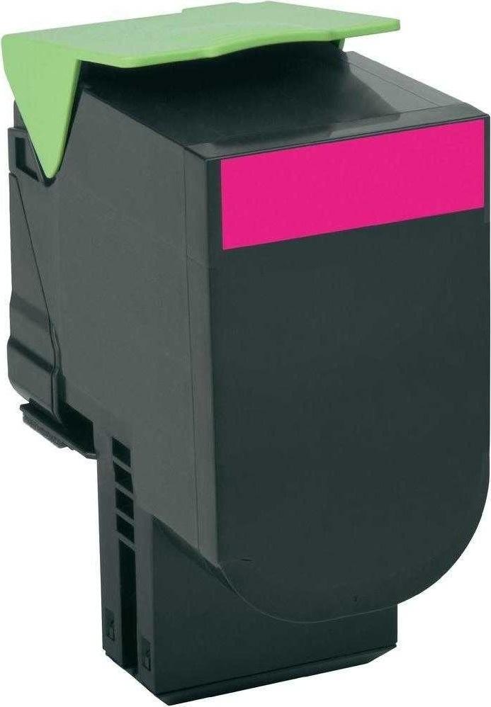 Lexmark 80C2XME lasertoner, rød, 4000s
