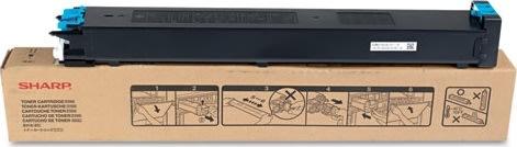 Sharp MX-23GTCA lasertoner, blå, 10000s