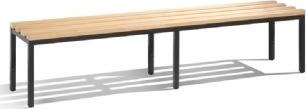 CP fritstående bænk, 200 cm