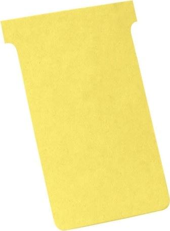 Kort til vægplanner 100 stk, gul