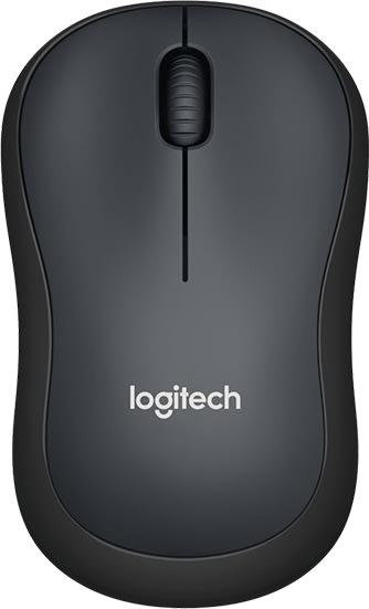 Logitech M220 Silent-mus, koksgrå