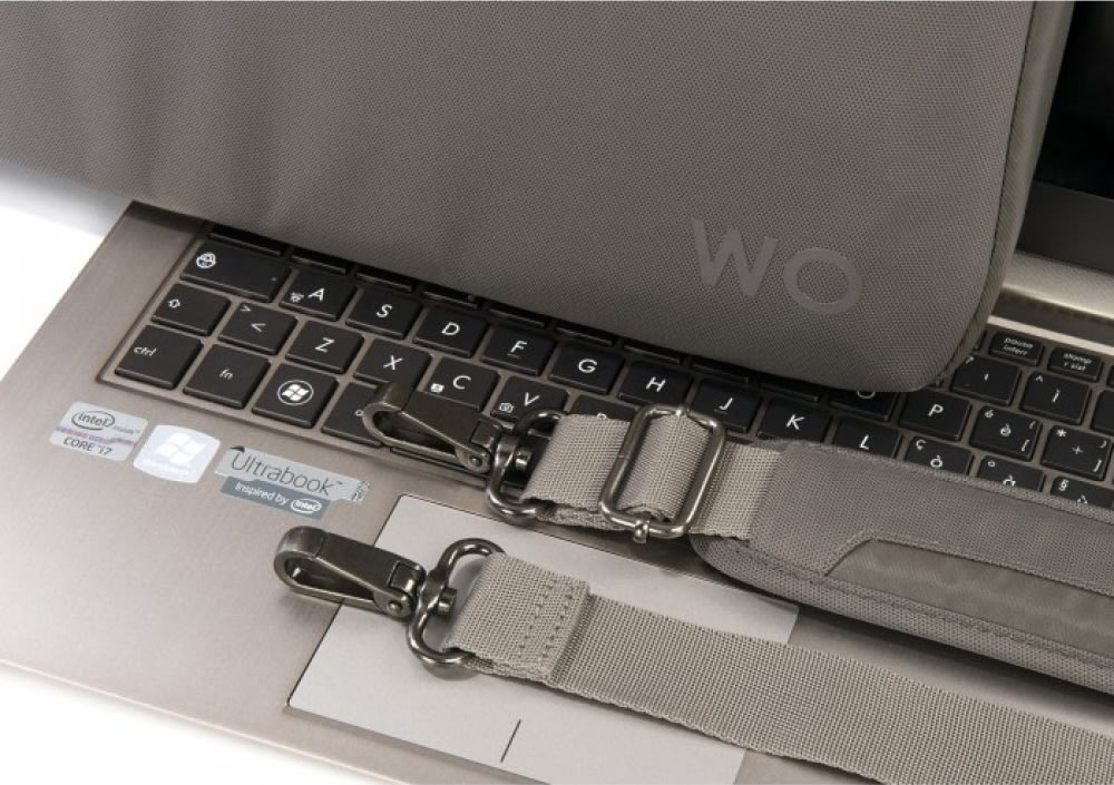 Tucano Work-Out II, slim 13'' computertaske, grå