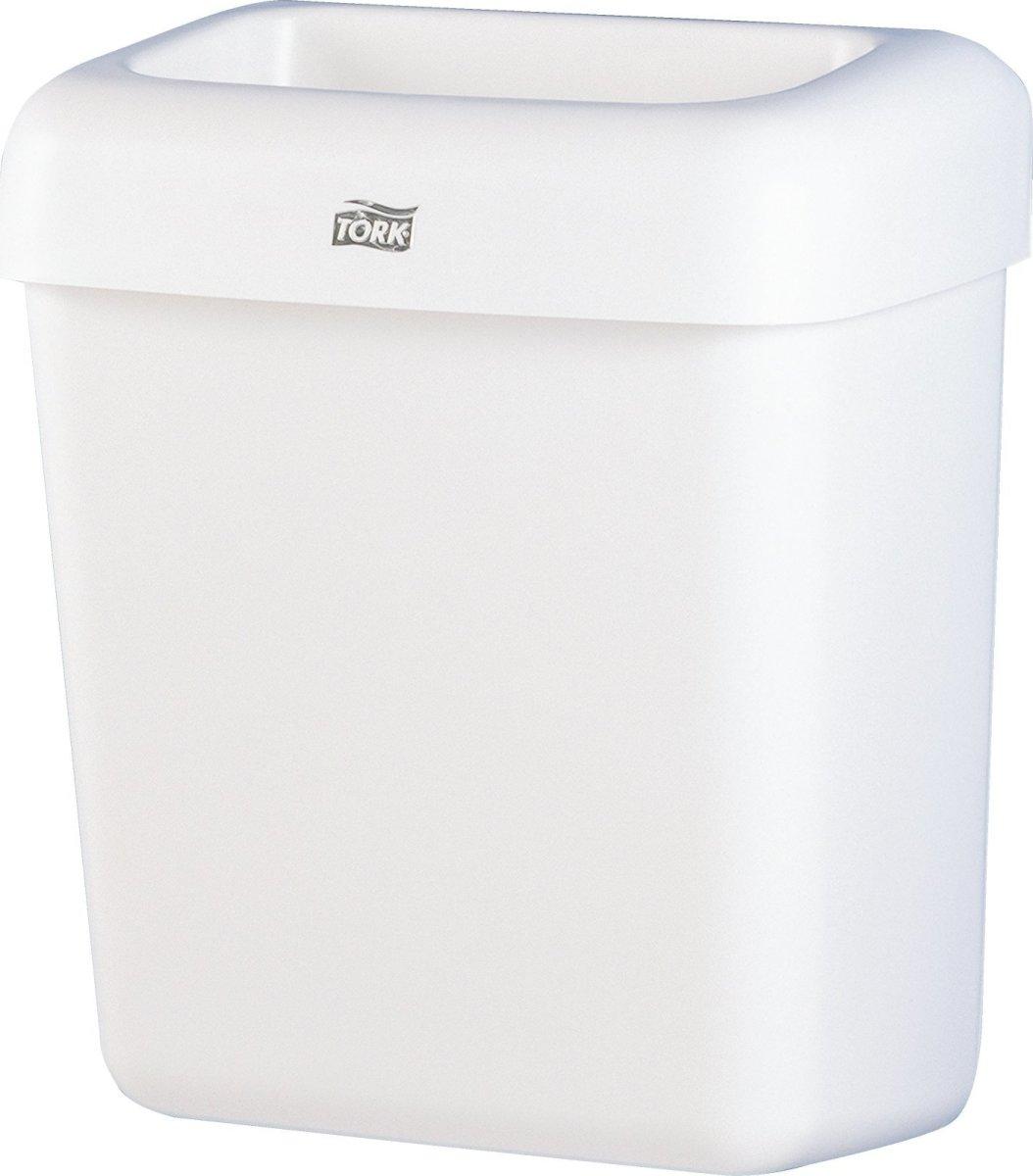 Tork B2 Affaldsbeholder, 20 liter, hvid