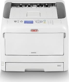 OKI C833dn A3 Farveprinter med Duplex og netværk