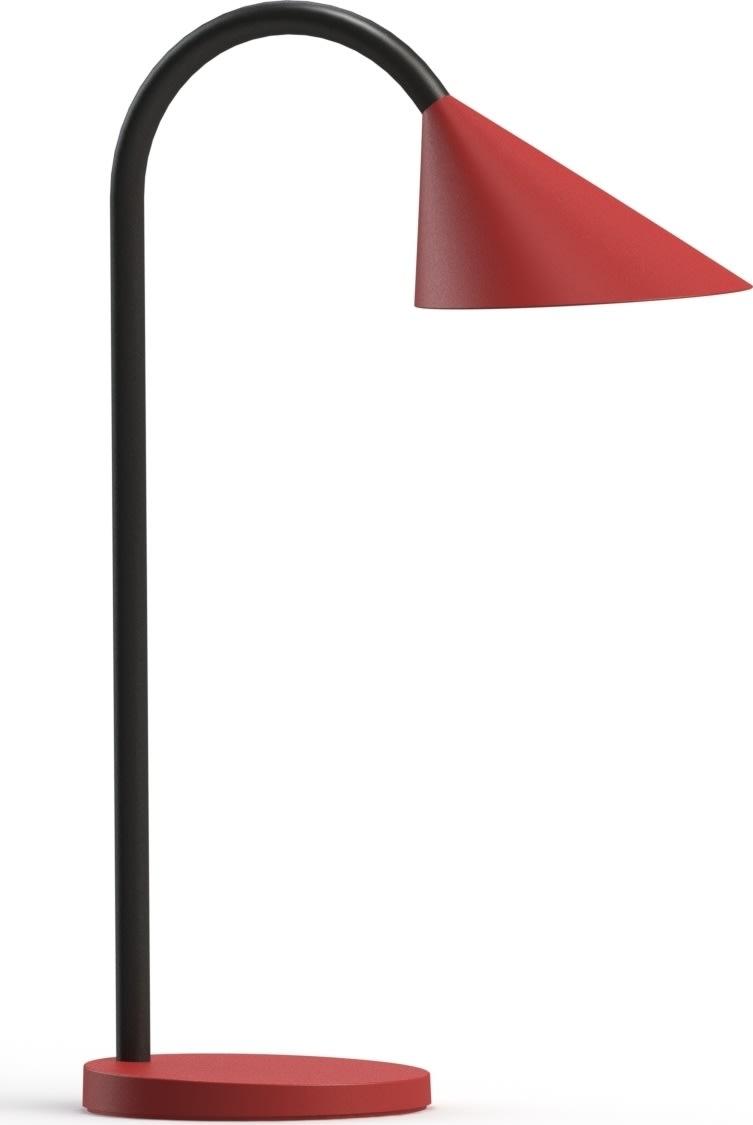 Unilux Sol bordlampe, rød