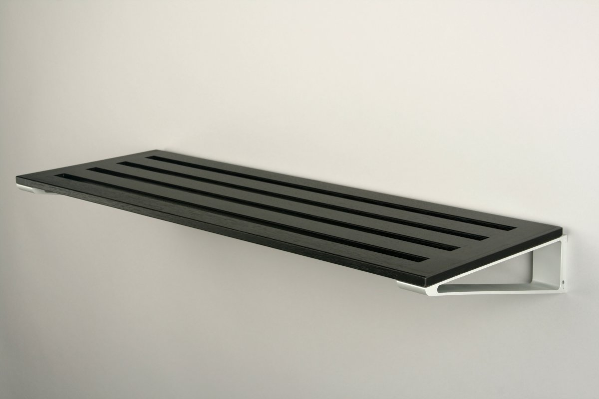 KNAX Skohylde, 40 cm, sortbejdset eg