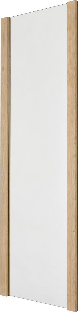 KNAX Spejl, 40 cm bredt, sæbebehandlet eg